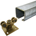 CANTILEVER SLIDING GATE TRACK AND ACCESSORIES