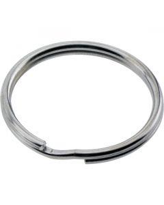 Split Ring Nickel Plated 19mm