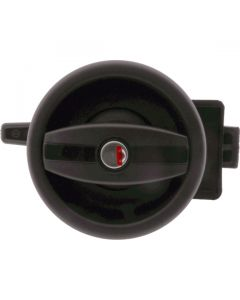 Flush Exterior Lock and Interior Handle LH Black 110mm