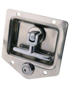 Drop T Latch Locking Stainless Steel 8mm Shaft