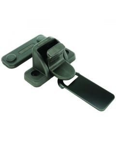 Slide Latch Plastic Black