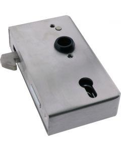 Sliding Door Hook Latch Zinc With Stainless Steel Case 173mm
