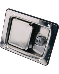 2 Step Rotary Paddle Latch Locking Stainless Steel 140mm
