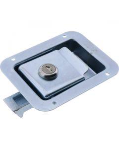 Paddle Latch Key Locking Medium Zinc Plated 121mm