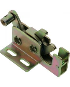 Rotary Latch Right Hand Cable Eye Zinc Plated
