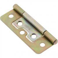Fast Fix Hinge Medium Bronze 64mm