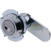 Key Locking Cam Lock Round Face 90deg Rotation 35mm