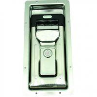 Flush Recessed Lock Int Handle Keylocking Stainless Steel