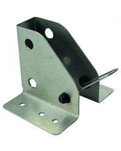 Folding Leg Bracket Stainless Steel 90mm