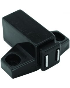 Magnetic Touch Latch Black 40mm