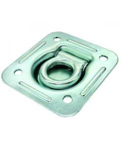 Rope Ring Recessed Zinc Plated 124mm