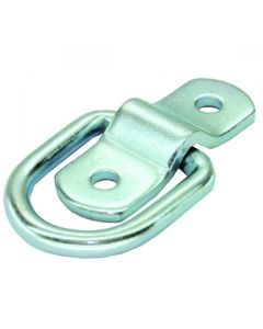 Rope Ring Surface Mount Zinc Plated 45x38mm