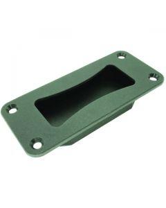Flush Grab Handle Black Zinc Diecast 133mm