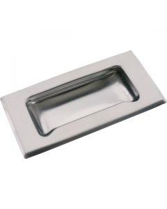 Flush Drawer Pull Standard Grip Stainless Steel 120mm