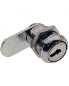 Key Locking Cam Lock 19mm 90deg Rotation 19mm