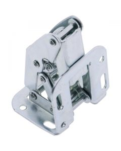 Offset Opening Spring Hinge Zinc Plated 97mm
