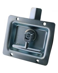 Drop T Centre Latch Only Non Locking Zinc Plated