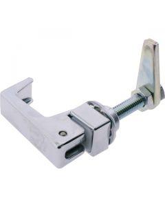 Lift and Turn Compress Latch Medium Chrome 55mm