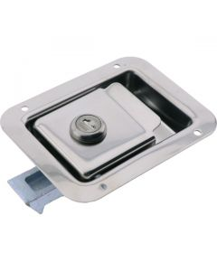 Paddle Latch Key Locking Medium Stainless Steel 121mm