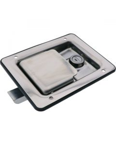 Paddle Latch Interior Release Locking Stainless Steel 140mm