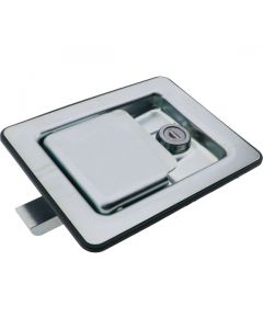 Paddle Latch Interior Release Locking Zinc Plated 140mm