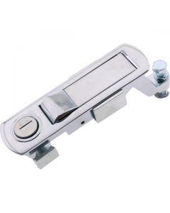 Push Button Compress Latch Locking Chrome 104mm