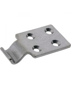 Strike For Large Latch 4 Hole Stainless Steel 90deg 73x40mm