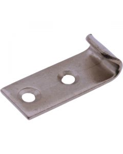 Hold Down Latch Strike Nickel Plated 30mm