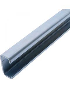 Lip Channel 1.5m Zinc Plated