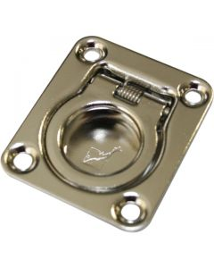 Ring Pull Polished Stainless Steel 44mm