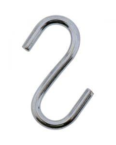 S Hook Zinc Plated 6x64mm