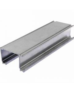 Double Door Track Only Aluminium 23kg Doors 2440mm